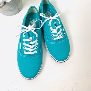 Vans Shoes - VANS teal shoes size 6 women's 4.5 men's